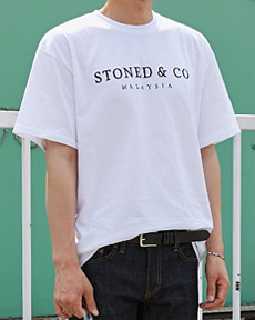STONED&CO 반팔티
